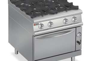 Baron 9PCF/G8005 Four Burner Gas Cook Top with Gas Oven