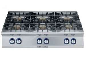 Electrolux 900XP E9GCGL6COM 6 Burner Gas Cook Top Boiling Top
