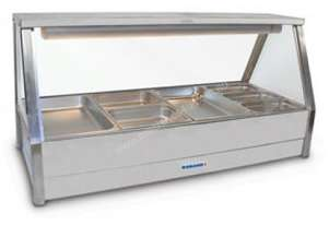 Roband E22RD Single Row Straight Glass Hot Foodbars