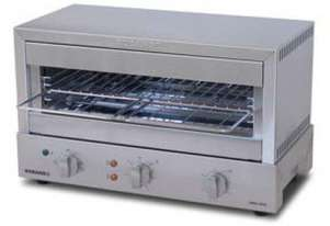 Roband GMX810G 8 Slice Toaster - Glass Element