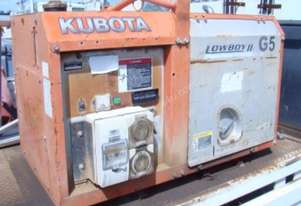 KUBOTA SINGLE PHASE DIESEL GENERATOR -  GL6000 - LOT 88