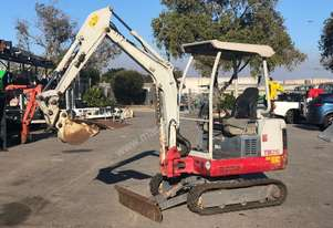 TAKEUCHI TB016 1.6T MINI EXCAVATOR GREAT CONDITION -452