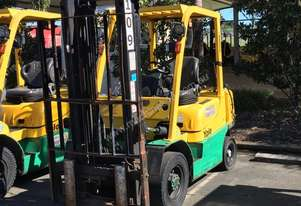2.5T Counterbalance LPG Forklift