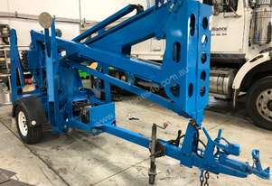 USED GENIE 34FT TRAILER BOOM LIFT