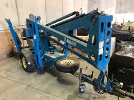 USED GENIE 34FT TRAILER BOOM LIFT - picture0' - Click to enlarge