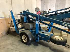 USED GENIE 34FT TRAILER BOOM LIFT - picture2' - Click to enlarge