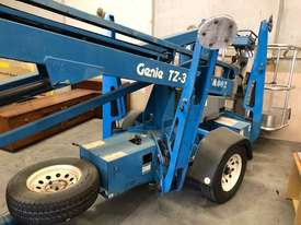 USED GENIE 34FT TRAILER BOOM LIFT - picture3' - Click to enlarge