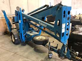 USED GENIE 34FT TRAILER BOOM LIFT - picture4' - Click to enlarge