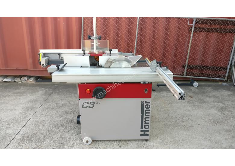Used 2013 hammer C3-31 Planer Thicknesser Combi in