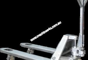 2T Stainless Steel Hand Pallet Jack Truck Fork Width 685mm & 550mm
