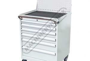 TCW-954WP Industrial Mobile Tooling Cabinet with Backing Panel 723 x 653 x 1454mm 100kg per Drawer