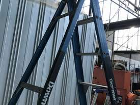 Bailey Fibreglass & Aluminum Step Ladder 3.0  Meter Single Sided Industrial 150kg SWL - picture5' - Click to enlarge