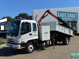 2006 ISUZU FRR 525 Tipper Crane Truck Service Vehicle - picture0' - Click to enlarge