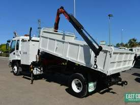 2006 ISUZU FRR 525 Tipper Crane Truck Service Vehicle - picture4' - Click to enlarge