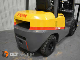 TCM FD30T3 Diesel 3 Tonne Forklift Integral Sideshift Pneumatic Tyres Low Hours - picture8' - Click to enlarge