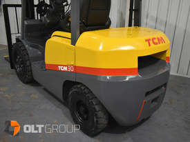 TCM FD30T3 Diesel 3 Tonne Forklift Integral Sideshift Pneumatic Tyres Low Hours - picture9' - Click to enlarge