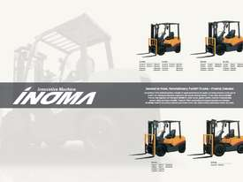 TCM FD30T3 Diesel 3 Tonne Forklift Integral Sideshift Pneumatic Tyres Low Hours - picture15' - Click to enlarge