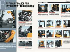 TCM FD30T3 Diesel 3 Tonne Forklift Integral Sideshift Pneumatic Tyres Low Hours - picture19' - Click to enlarge