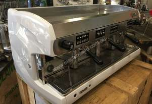 WEGA POLARIS 3 GROUP HI-CUP WHITE ESPRESSO COFFEE MACHINE