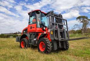 Summit 3 Tonne 4WD Rough Terrain Forklift with 2 Stage 3 meter Mast