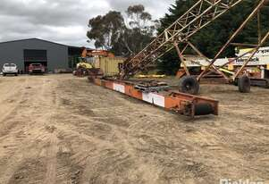 Stacker/Conveyor Ranger, Orange, 650mm X 15m Long, Hydrualic Driven, Folds for Transport, Owners Wil