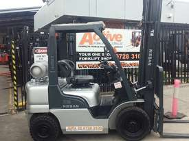 Check it out NISSAN Forklift 2.5Ton 5500mm Great value Super Low Hrs  - picture0' - Click to enlarge