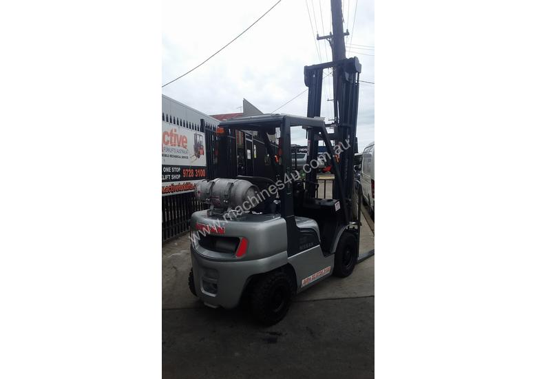 Check it out NISSAN Forklift 2.5Ton 5500mm Great value Super Low Hrs