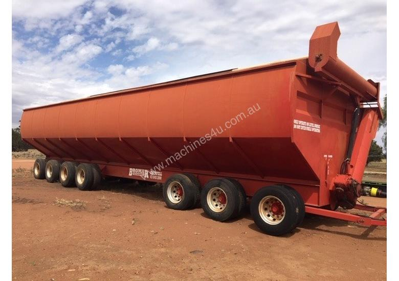 Bromar Engineering 130t Mother Bin Handling/Storage