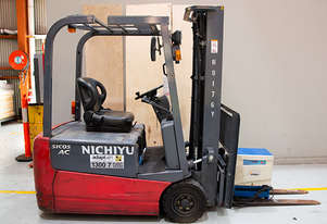 1.4T Battery Electric 3 Wheel Battery Electric Forklift