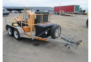 ats cable hauling winch trailer , v2 petrol