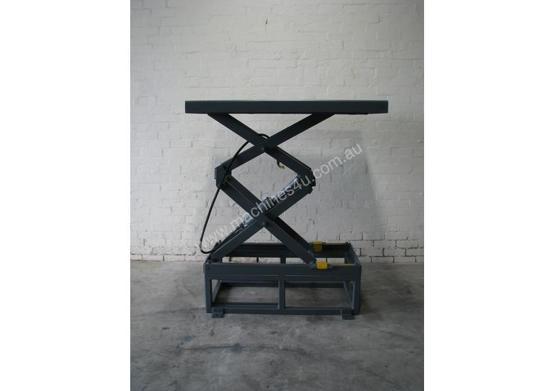 1360kg Two Stage Scissor Lift Table - 1280 x 1200 mm