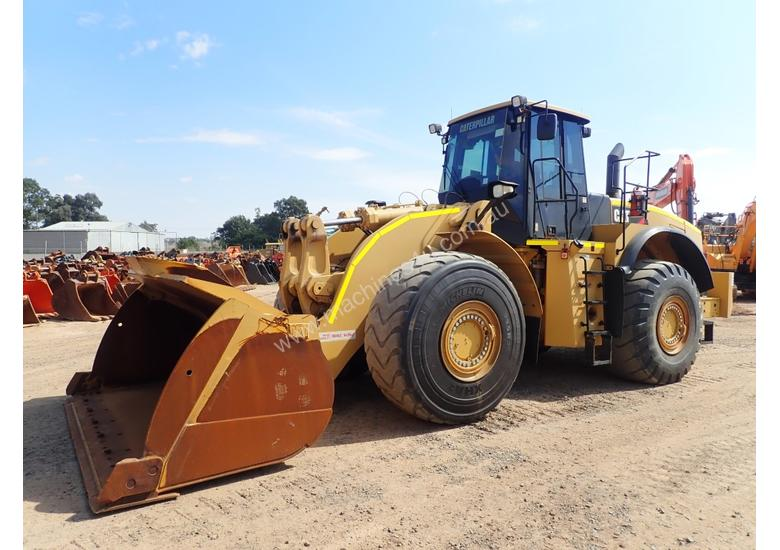 Caterpillar 980H Wheel Loader in , - Listed on Machines4u