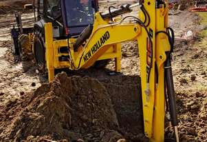 NEW HOLLAND B90B BACKHOE LOADER