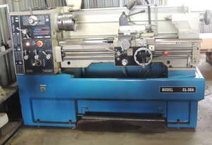 CL-38A Centre Lathe 410 x 1000mm Turning Capacity - 52mm Spindle Bore Includes Digital Readout