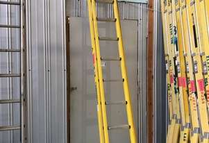Branach Fiberglass Extension Ladder 3.9 - 6.4 Meter Industrial Quality