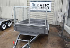 7x5 Single Axle Caged Trailer (Australian Made)