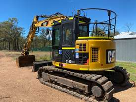 CAT 314D CR QC 14T EXCAVATOR PUSH BLADE, RUBBER PADS, HEIGHT LIMITER, Wired 4 TRIMBLE GPS - picture0' - Click to enlarge