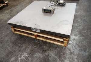 Digital Platform Scales, 1500kg x 1Kg