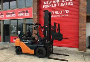 TOYOTA FORKLIFTS 32-8FG25 S/N 32893 DELUXE EFI ENGINE