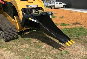 Himac Skid Steer Stump Bucket