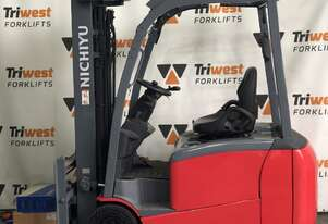 Nichiyu Electric 1.8t 3 Wheel Counterbalance Forklift