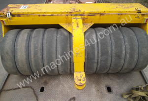 freeroll , grader mounted multi tyred roller