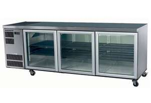 Skope CL600 3 Glass or Solid Swing Door Fridge