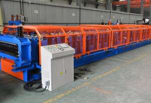 Double roll forming line