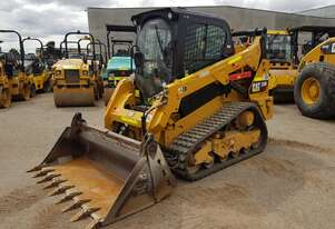 2018 CAT 259D TRACK LOADER HI-FLOW PREMIUM SPEC WITH 849 HOURS