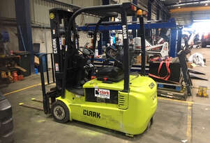 Highly Manoeuvrable 3 Wheel 1.8t Electric CLARK Forklift