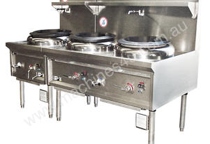 Wok888 888 Three Hole Gas Wok Burner