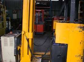 Toyota 1.8 Ton Electric Forklift Reach Truck - picture0' - Click to enlarge