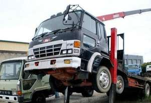 HINO FW 8x4 Crane Truck,Table / Tray Top