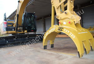 Used Mechanical Demolition Grapple Attachment 20t